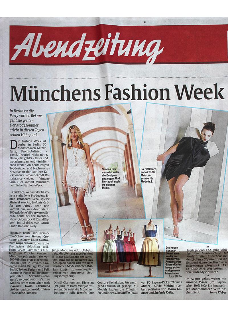 kleider fashion week